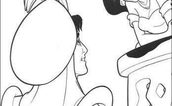 Dibujo Aladdín quería ver a Jasmine