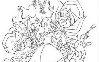 Dibujos Para Colorear Para Ninos Y Ninas De Alicia Archives
