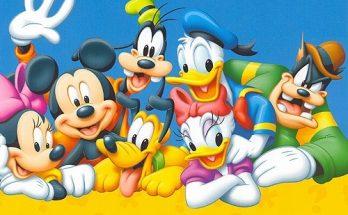 Dibujo Los mejores amigos Disney