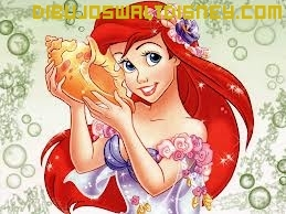 Dibujo Ariel la sirenita