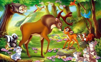 Dibujo Bambi y el Príncipe del Bosque