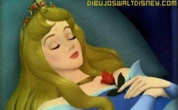 Dibujo Imagen de la Bella Durmiente