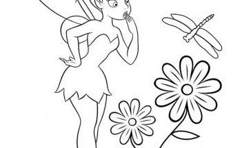Dibujos Para Colorear Para Niños Y Niñas De Campanilla Archives