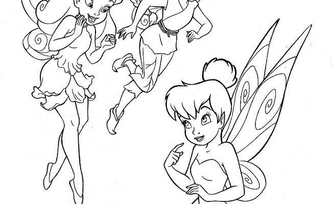 Dibujo Campanilla y las hadas