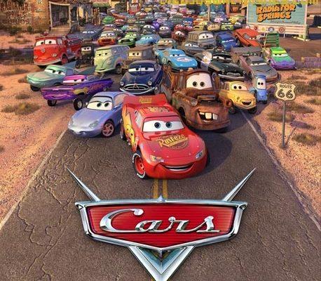 Dibujo Cars sorprenderá tu pantalla