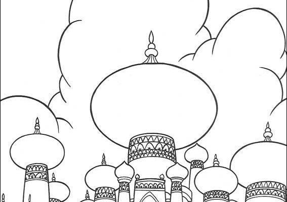 Dibujo El castillo de Ágraba