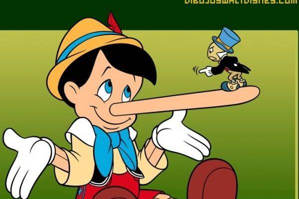 Dibujo Fondo de pantalla de Pinocho