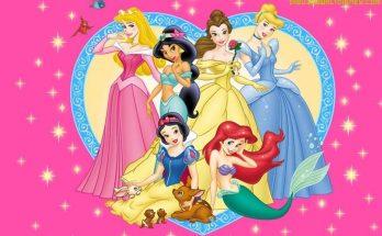 Dibujo Fondo de Princesas Disney