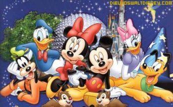 Dibujo Fondo de pantalla personajes Disney