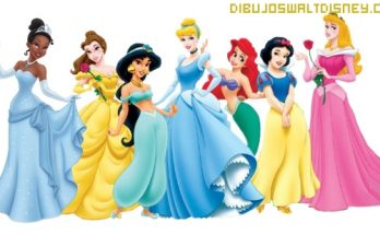 Dibujo Fondo de pantalla princesas Disney
