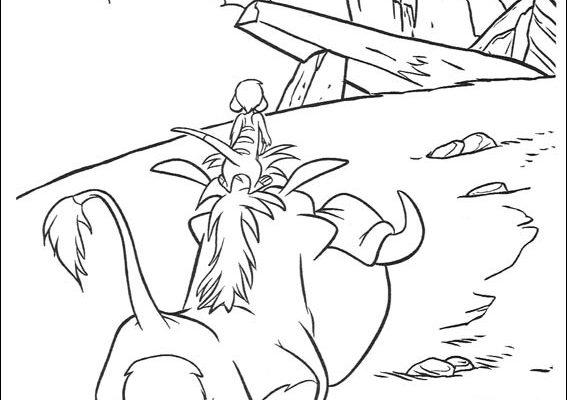 Dibujo Corre Pumba