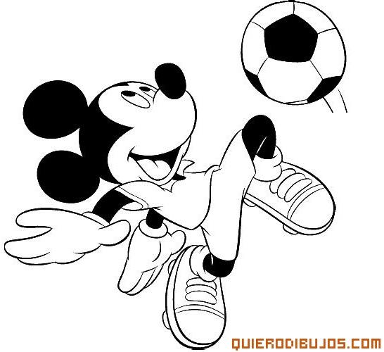 Mickey En El Mundial Dibujos Disney