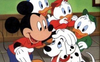 Dibujo Fondo de pantalla de Mickey