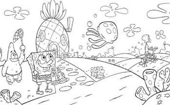 Dibujo Mundo Bob Esponja