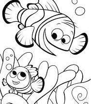 Dibujo Un pez divertido