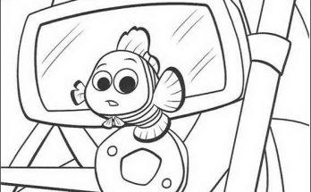 Dibujo Nemo ha crecido