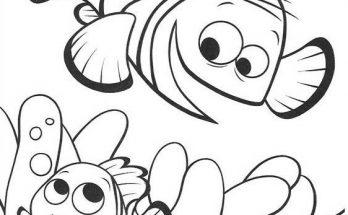 Dibujo Nemo y su papá Martin