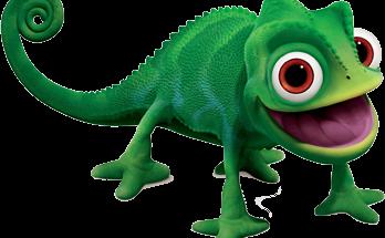 Dibujo El camaleón Pascal
