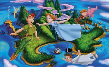 Dibujo Peter Pan y Wendy
