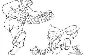 Dibujos Disney Para Colorear De Pinocho Para Niños Y Niñas Archives