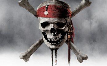 Dibujo Calavera pirata