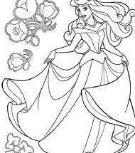 Dibujo Princesa acuática