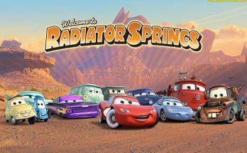 Dibujo Pueblo Cars
