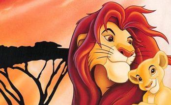 Dibujo Fondo de escritorio del Rey león