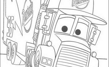Dibujo Un coche divertido