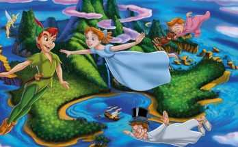 Dibujo Personajes de Peter Pan