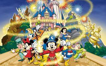 Dibujo Los amigos de Disney
