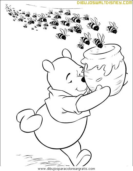 Winnie Pooh Para Colorear Con Corazones Resultado De Imagen Para