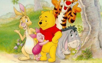 Dibujo Winnie The Pooh y sus amigos