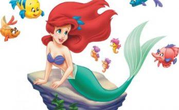 Dibujo Ariel y amigos