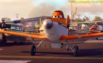 Dibujo Los aviones en la pista