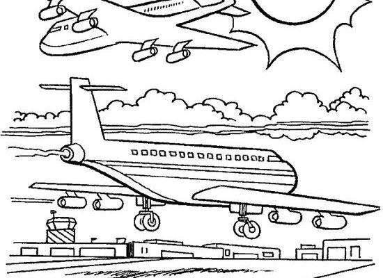 Aviones Para Colorear Dibujos Disney