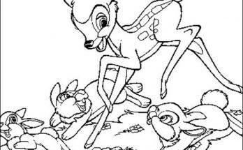 Dibujo Bambi