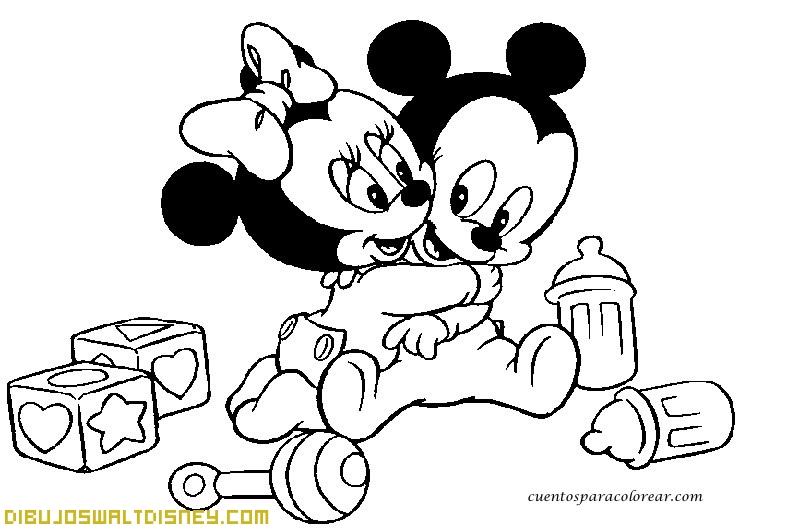 Bebe Disney Jugando Con Cochecito Dibujos Disney