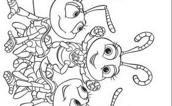 Dibujo Hormigas Bichos