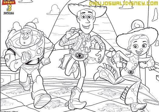 Dibujo Buzz y Woody
