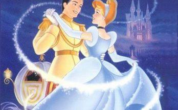 Dibujo Cenicienta y el Príncipe