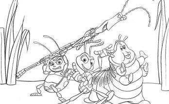 Dibujo Unos guerreros muy especiales