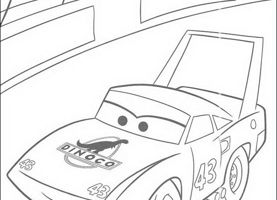 Dibujo Compitiendo en la carrera