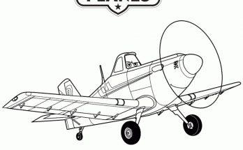 Dibujo Avión Dusty Crophopper