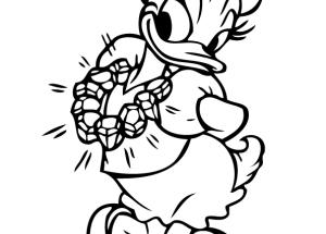 Dibujo Daisy con collar nuevo