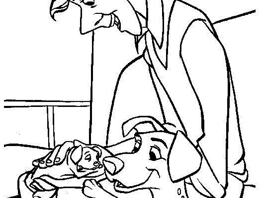 Dibujo Dalmata recién nacido