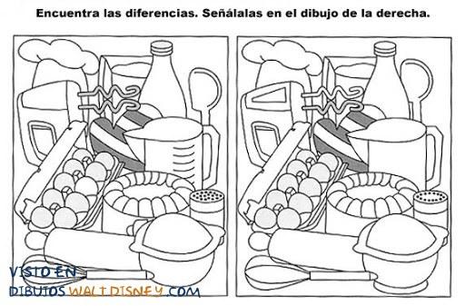 Dibujo Encuentra las diferencias