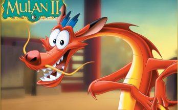 Dibujo El dragón Mushu