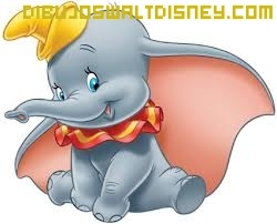 Dibujo Dumbo