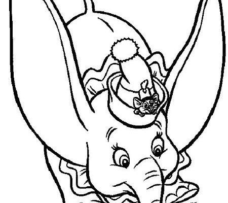 Dibujo Dumbo y Timothy